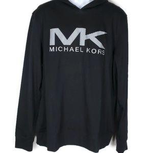Michael Kors Mens Hoodie Black XL EBM660